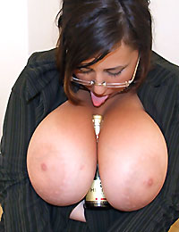 Gya Big Boobs Secretary